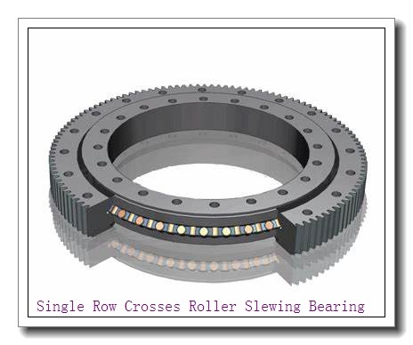 Single Ring Crossed Rollers Slewing Bearing for Tower Crane