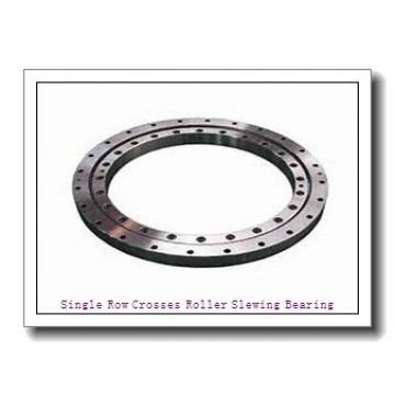 Forged Mechanical Gear Ring Roller Bearings Slewing Ring for Turntable