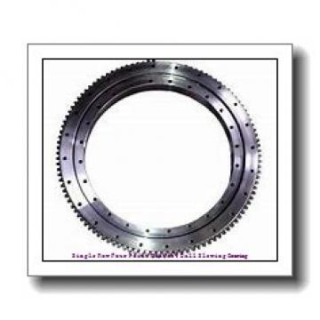 Single Row Four Point Contact Ball Slewing Bearing with External Gear