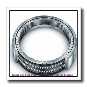 Single Row Ball Slewing Ring Bearing with External Gear for Crane