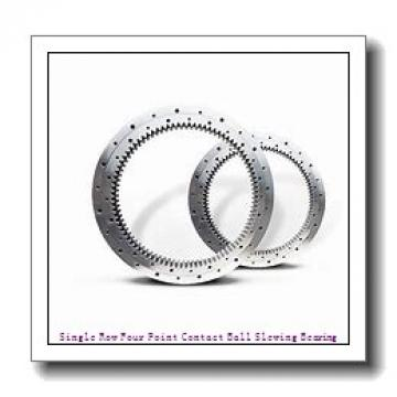 Four Point Contact Slewing Ball Bearing Rings with Internal Gear