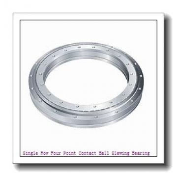 Mechanical Gear Ring / Roller Slewing Bearings Ring for Turntable